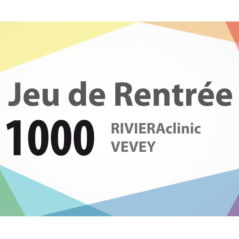 Jeu Rentrée Rivieraclinic Vevey