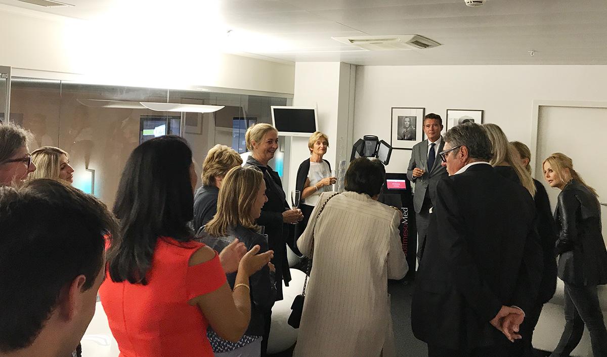 Soirée d'inauguration de la Softmesology à la RivieraClinic